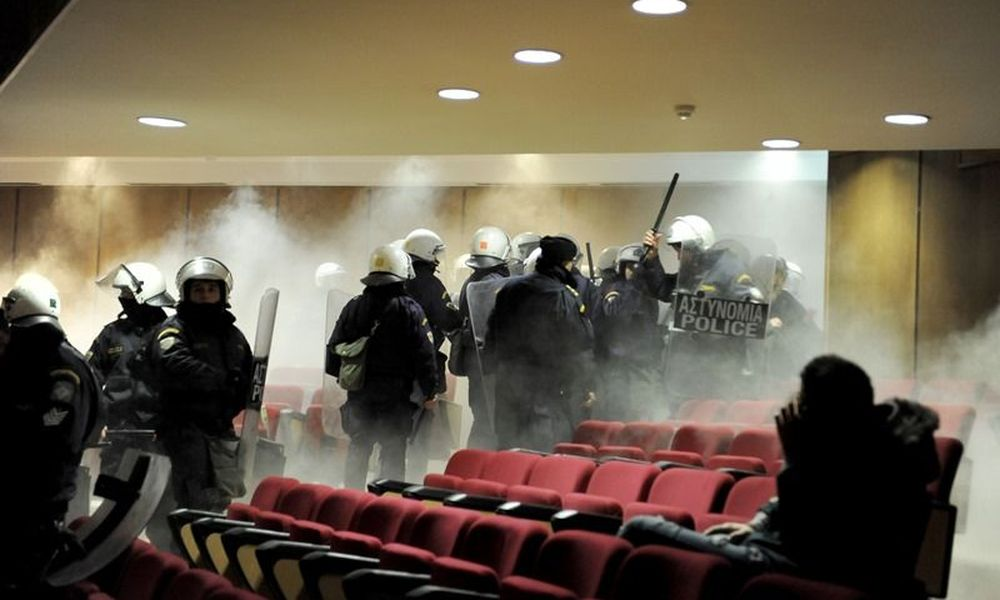 Golden Dawn trial interrupted amidst tension in courtroom