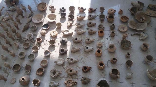 Unlawful excavations in Apollonia