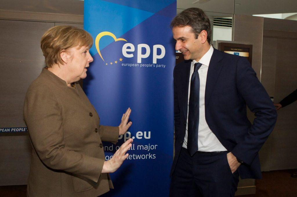 New Democracy leader Mitsotakis in Berlin to meet Chancellor Merkel