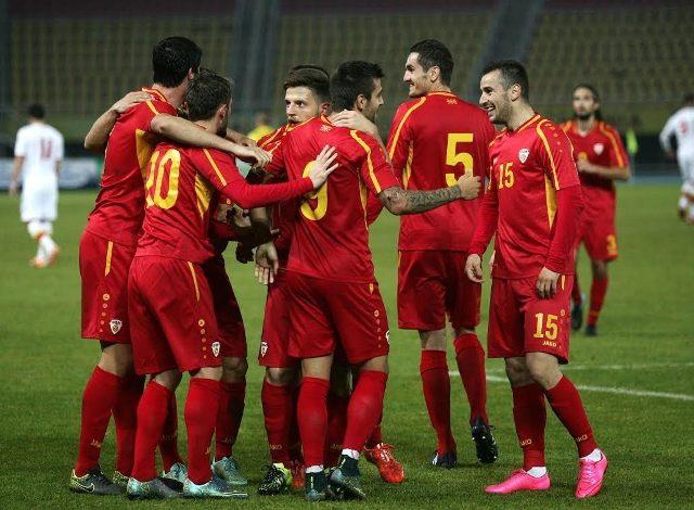 FIFA ranks FYROM on the 165th position