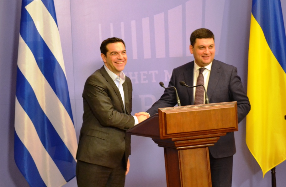 Tsipras: Greece supports the need for peace in Ukraine