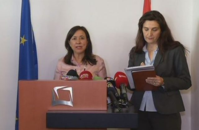 The international mission starts the vetting process for prosecutors and judges in Albania