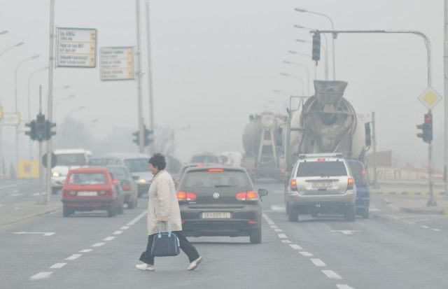 Level of air pollution in Skopje is alarming