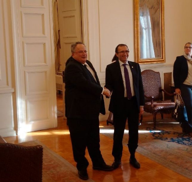 Security at the heart of the Kotzias – Eide meeting