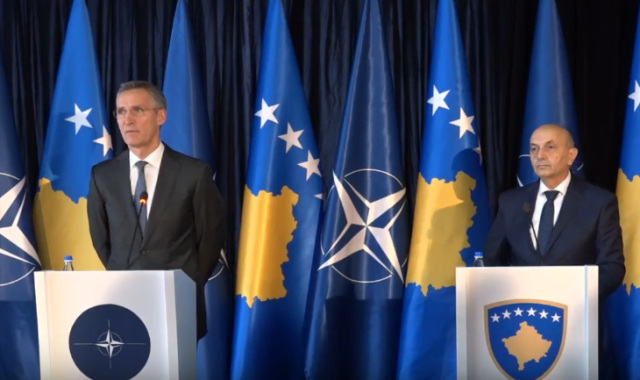 Stoltenberg: Tension between Kosovo and Serbia should be reduced