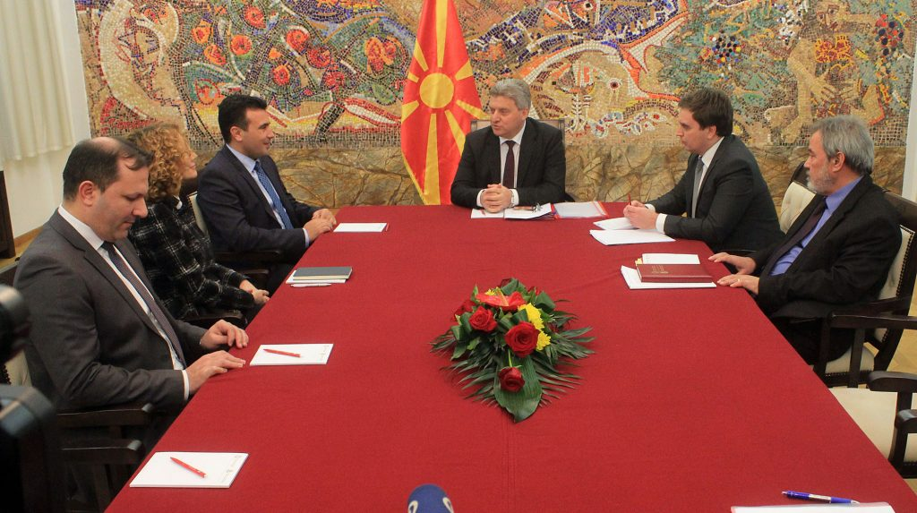 President Ivanov meets with political leaders