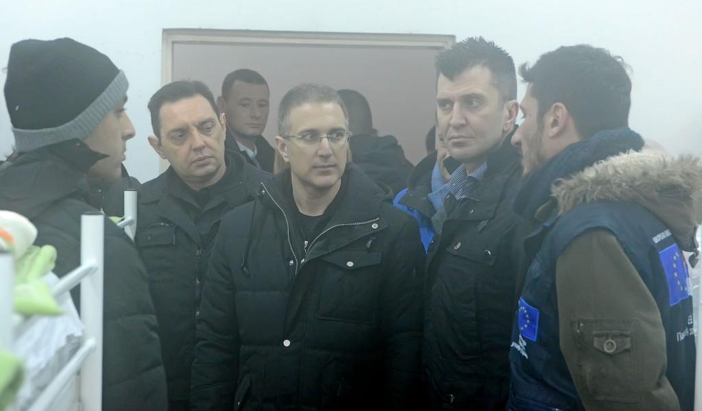 Restrictions for migrants in Belgrade