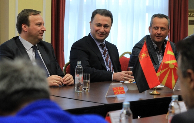 VMRO-DPME addresses to the EU and USA