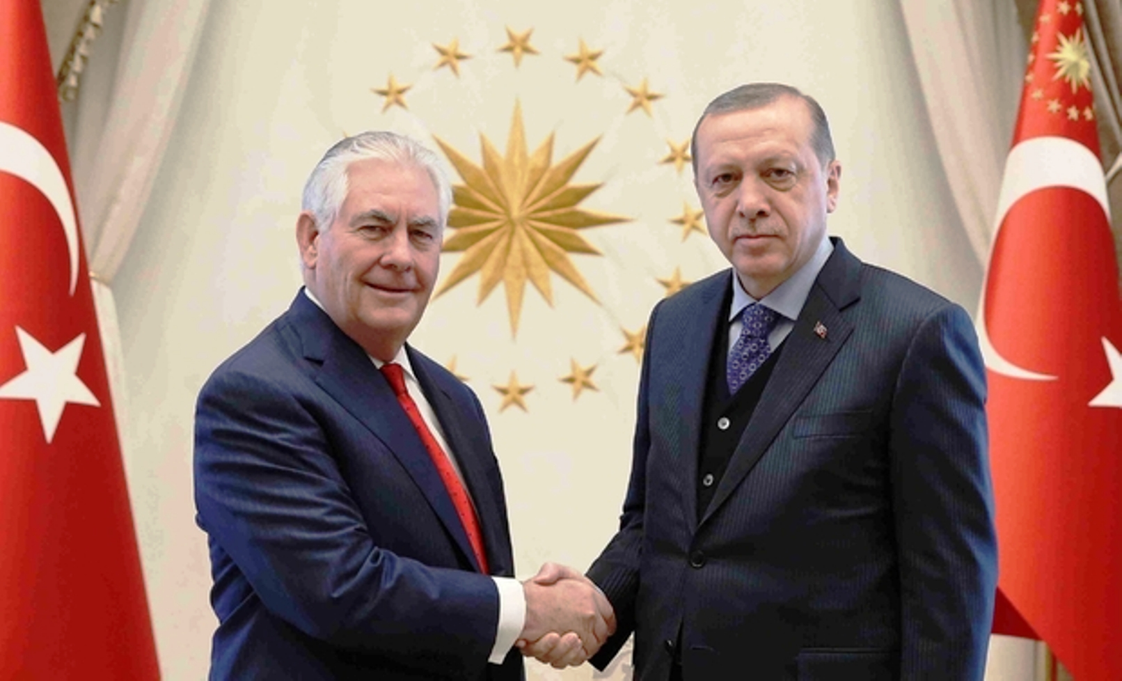 Syria, Iraq and Kurds in the agenda during Tillerson's visit to Ankara
