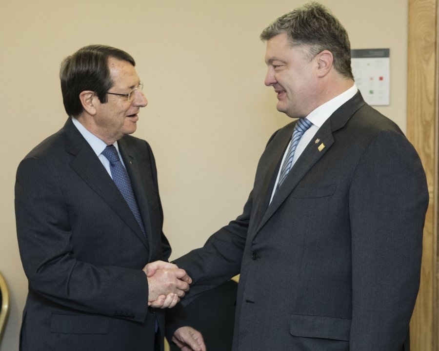 Cyprus President has meeting with Ukrainian counterpart on the sidelines of the EPP Congress