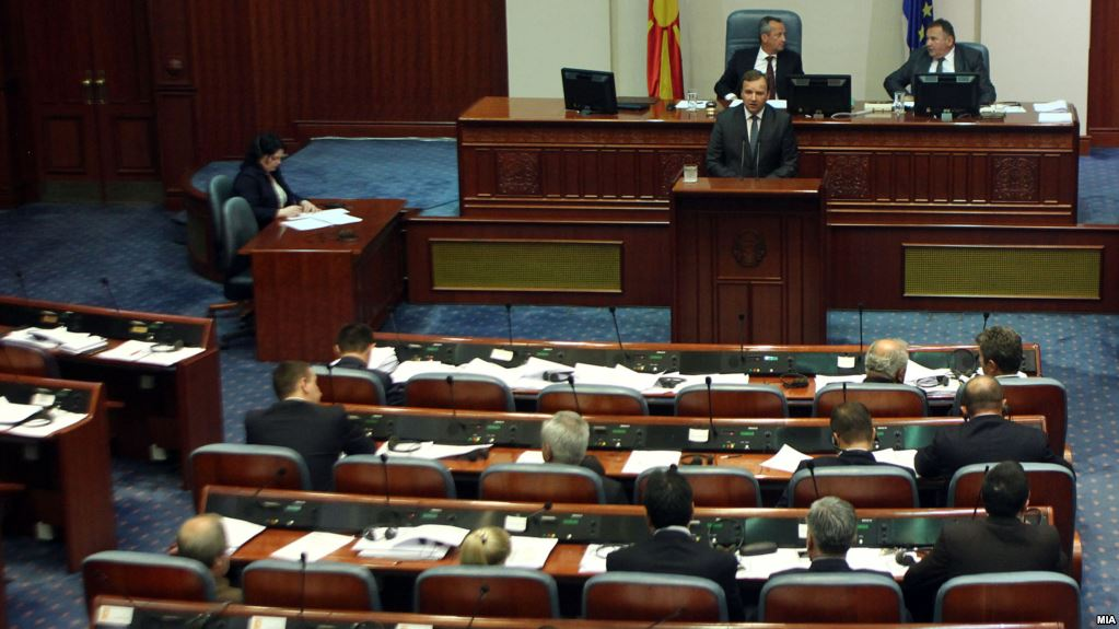 Conditions and strategies to unblock the work of Parliament in fYROMacedonia