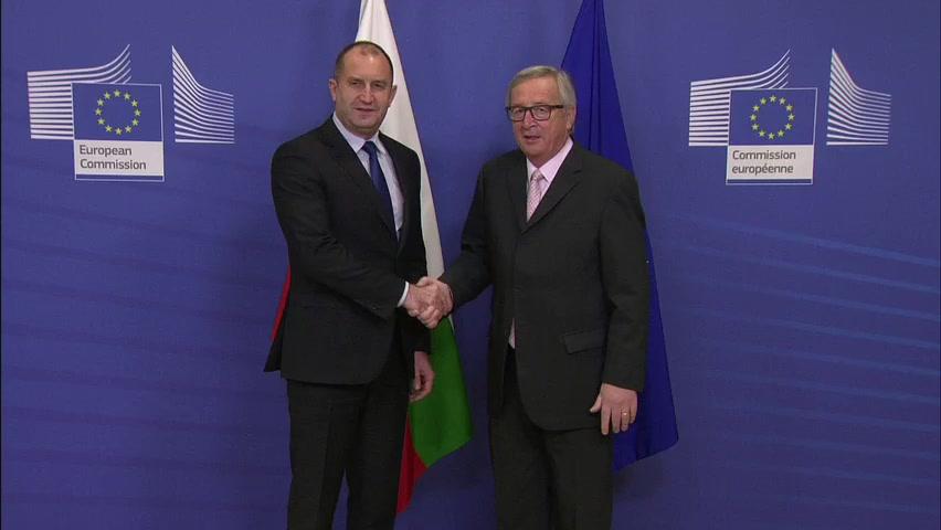 Juncker: EC to 'explore options' to help Bulgaria guard EU external border