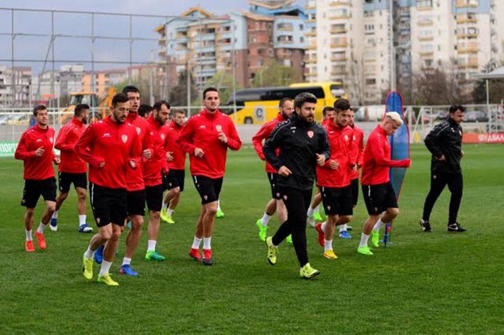FYROM national football team ready to face Belarus