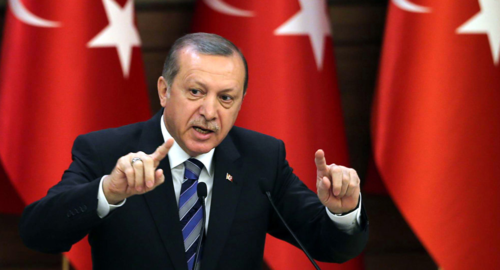 Erdogan threatens with second Referendum on EU accession