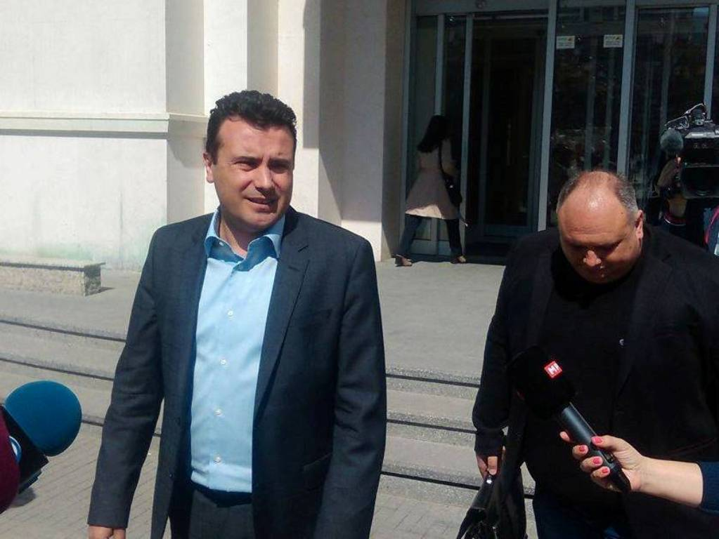 Zaev: Albanian parties will never enter a coalition with Gruevski