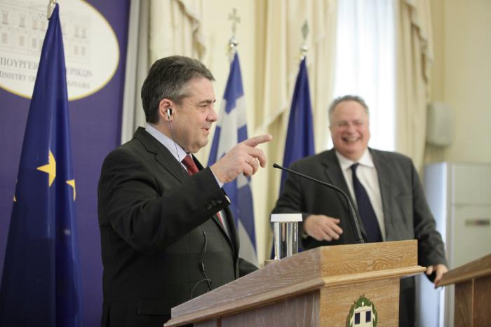 EU's future prospects the focus of Kotzias-Gabriel meeting in Athens