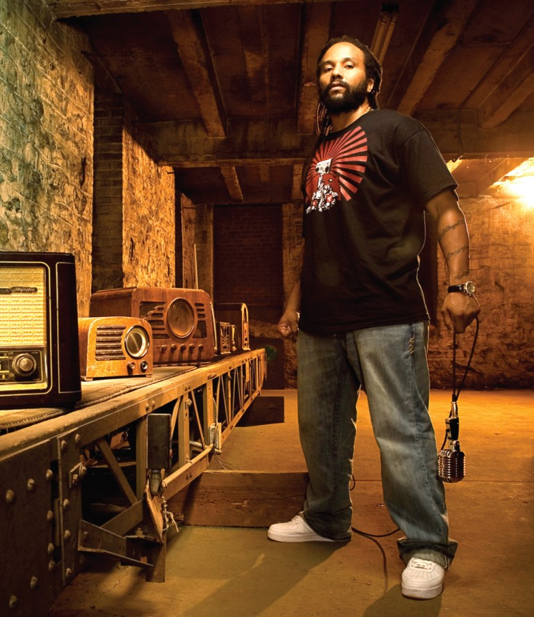 Ky-Mani Marley performs at the 10th Demofest!