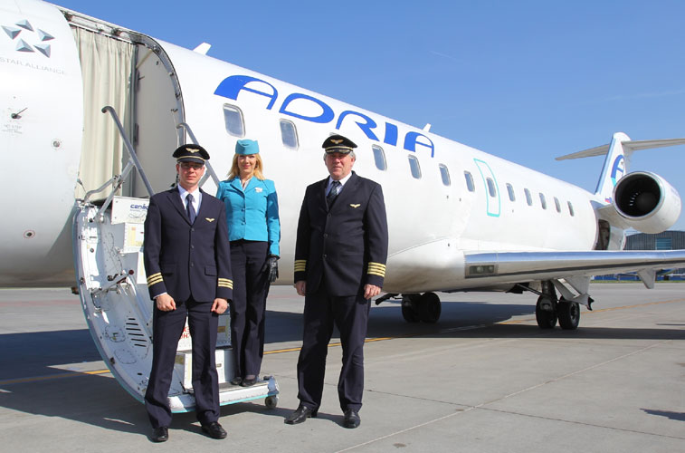 Adria Airways pilots start industrial action