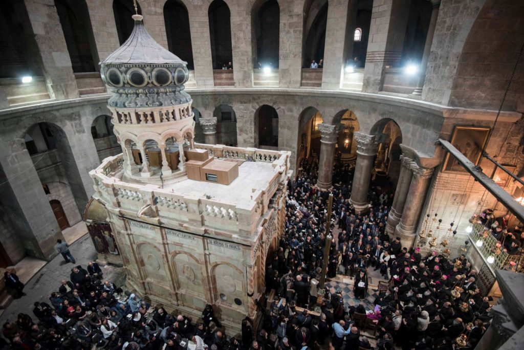 Renovated Holy Sepulchre delivered to the public in presence of Alexis Tsipras