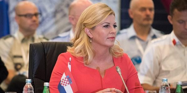 Croatia's president meets with Croats in Sweden