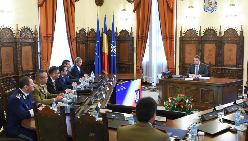 President Iohannis: CSAT approves Romania's objectives at the NATO Summit in Brussels. 120 military to be sent to Poland