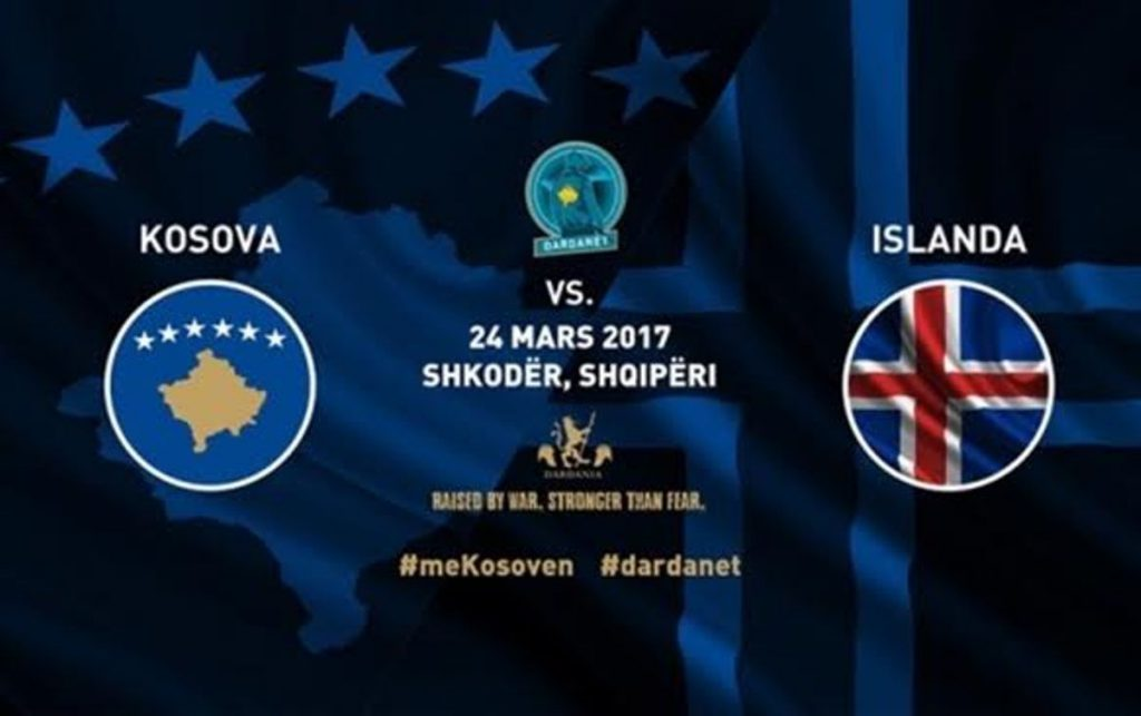 Kosovo's national football team is hoping for a win against Iceland