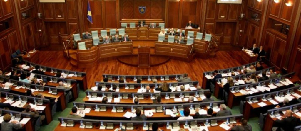 Kosovo is aiming to decriminalize its political class