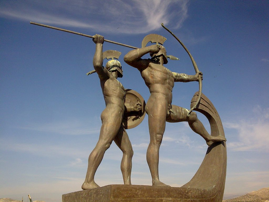 Archaeologists found the port of Salamis' ancient sea battle