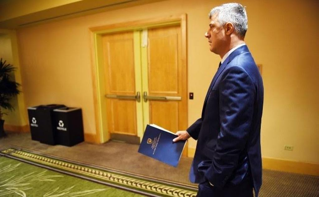 It is impossible to form the Army of Kosovo through constitutional changes, says President Thaci