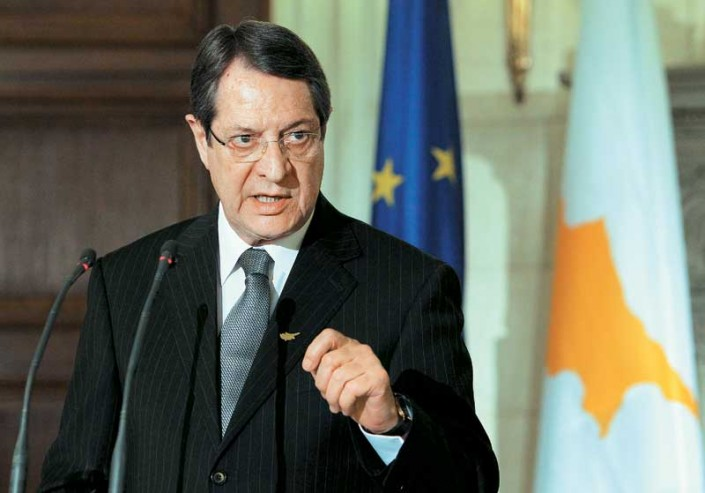 My intention and my decision is to participate in the dialogue for the Cyprus problem at any given moment, Anastasiades says
