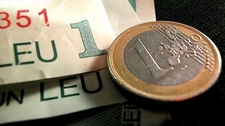 Highest EUR/RON exchange rate in the past four years and a half