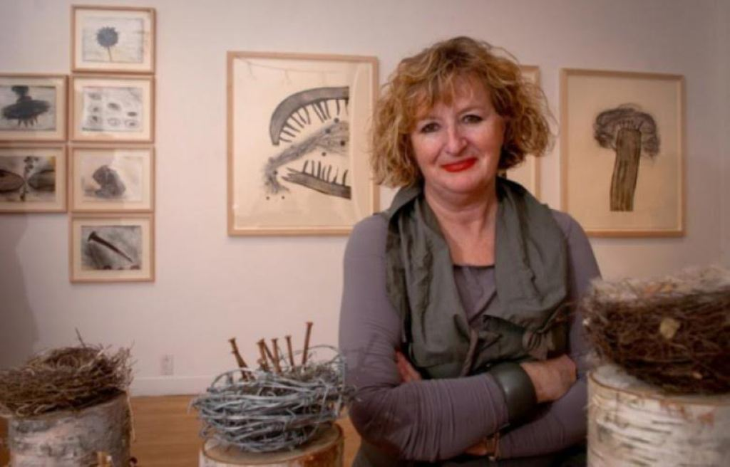 Canadian artists shows her works in Pristina