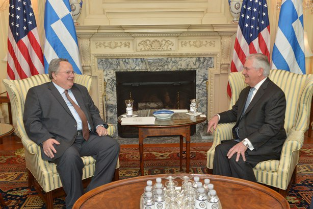 Kotzias – Tillerson meeting fruitful