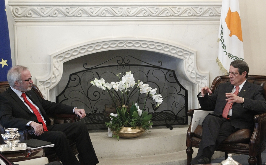 The President of Cyprus received the President of the European Investment Bank