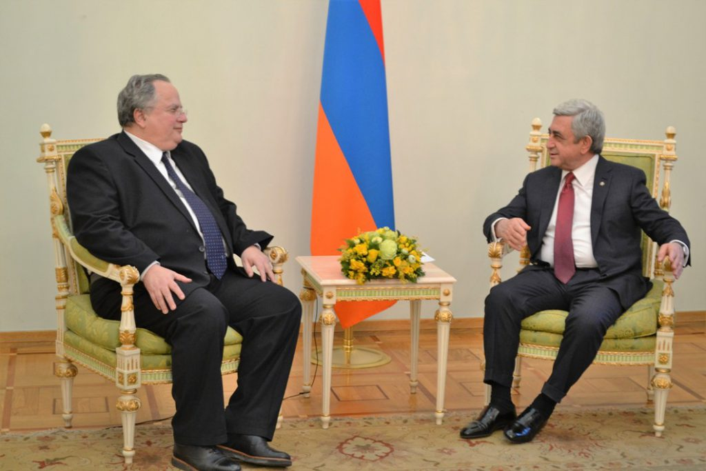 Greece – Armenia boost ties of cooperation (pic)