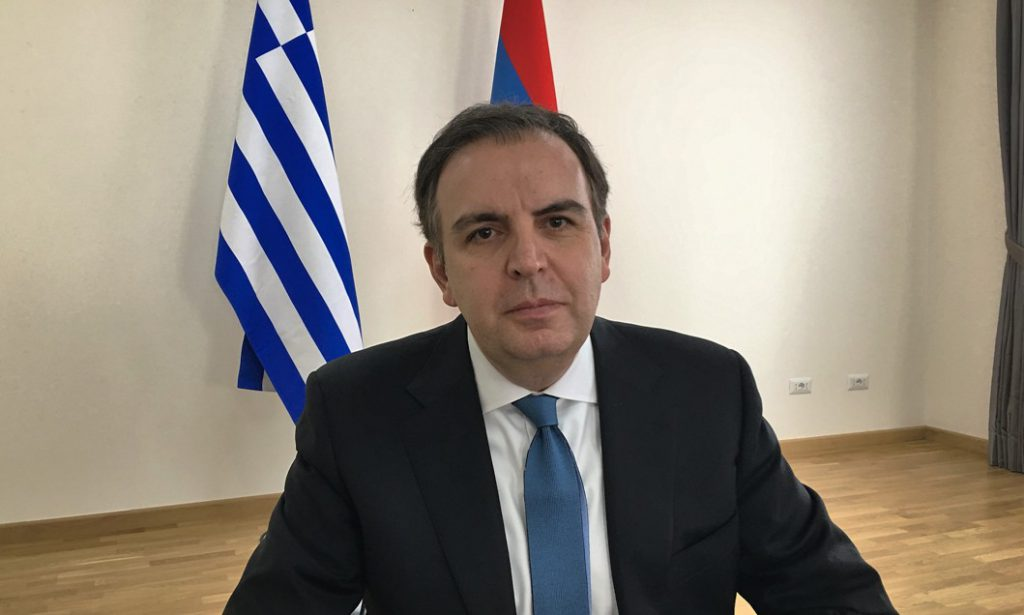 Nazarian: Greece and Armenia relations are based on historical bonds