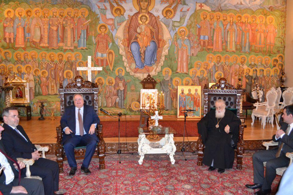 Kotzias on two day visit to Armenia