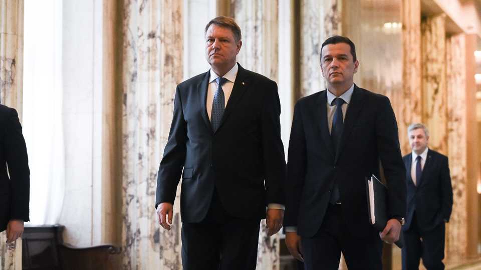 PM Grindeanu claims common viewpoint with President Iohannis on EU issues