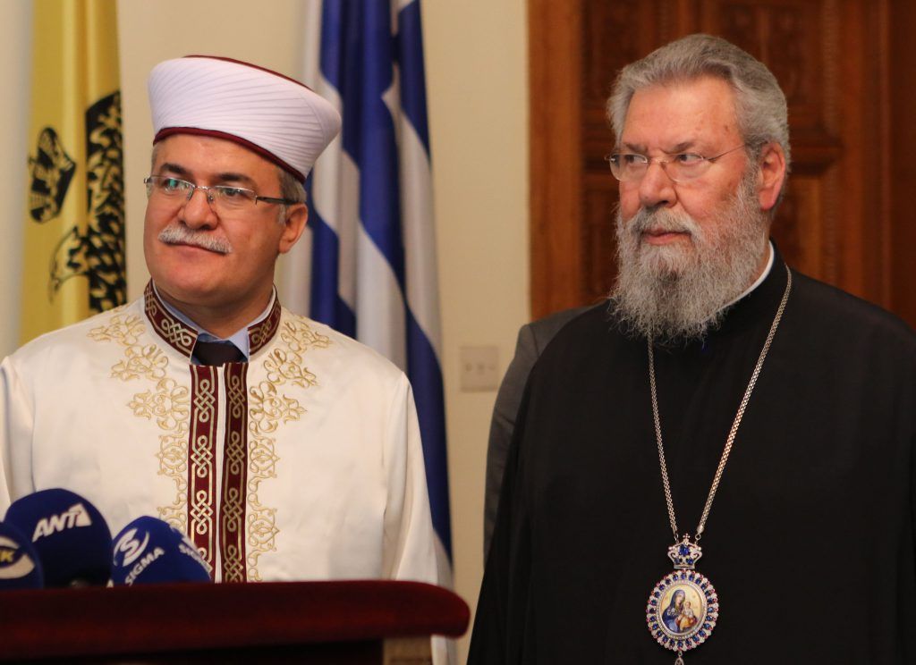Cypriot religious leaders jointly condemn all forms of violence against women