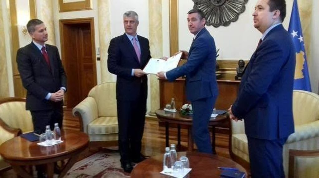 President Thaci sends to parliament the bill on the creation of the army of Kosovo