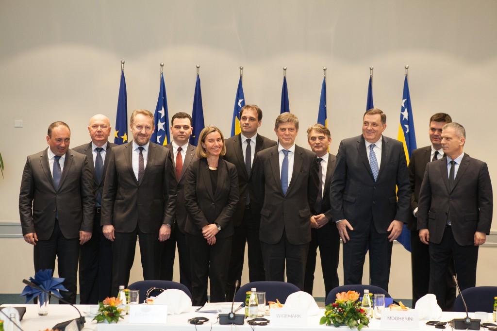 Echo of Mogherini's visit to BiH
