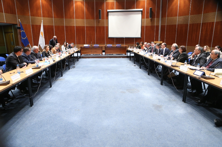 2nd Summit of the Cyprus – Egypt Intergovernmental Committee held in Lefkosia
