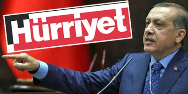 Hurriyet newspaper feels Erdogan's wrath