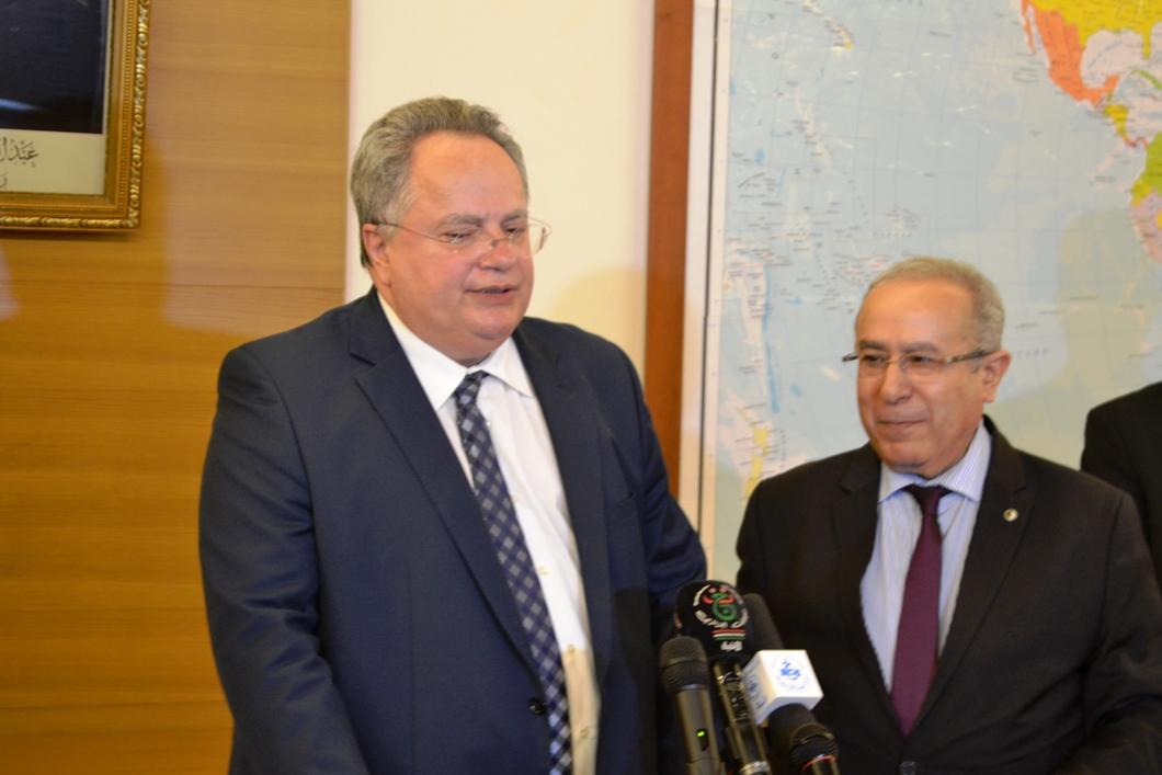 Kotzias' visit to Algeria of strategic importance