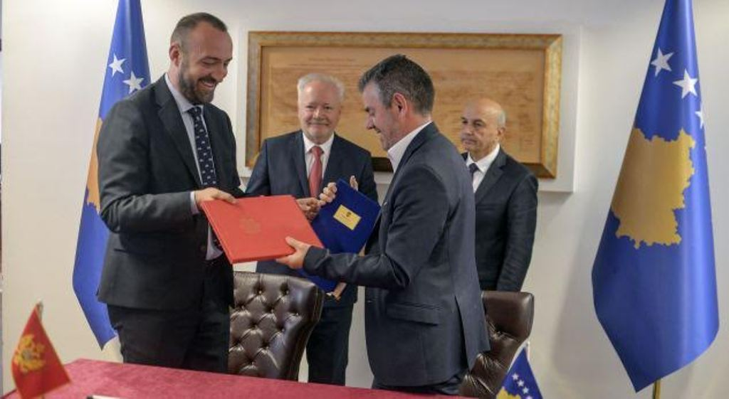 Kosovo and Montenegro sign an agreement for cultural cooperation