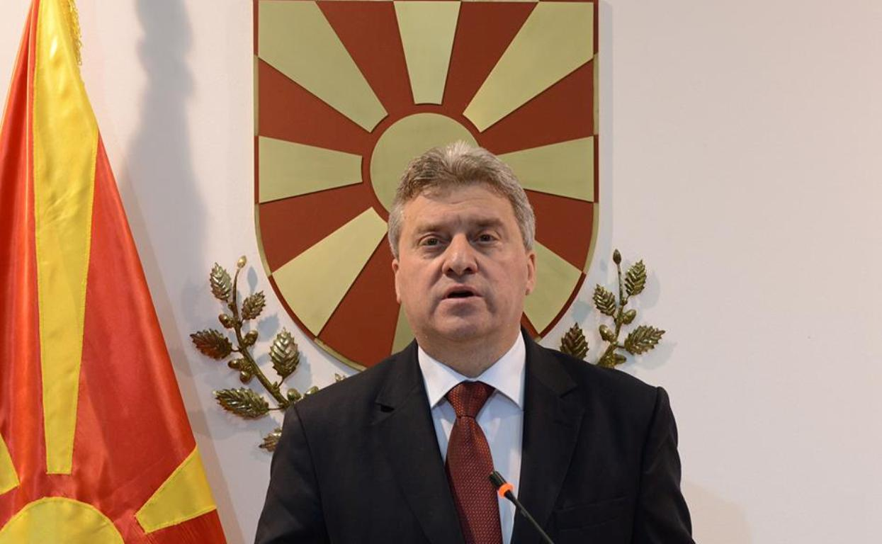 Ivanov does not enact the Law on the officialization of the Albanian language