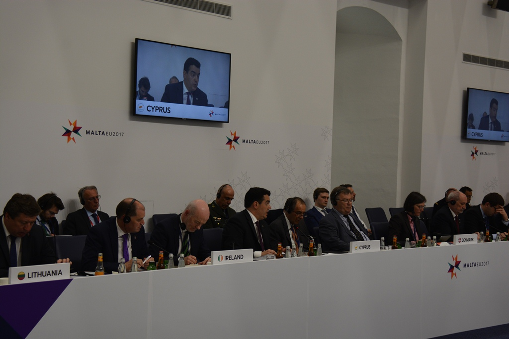 EU Defence Ministers Informal Meeting wraps-up deliberations in Valetta