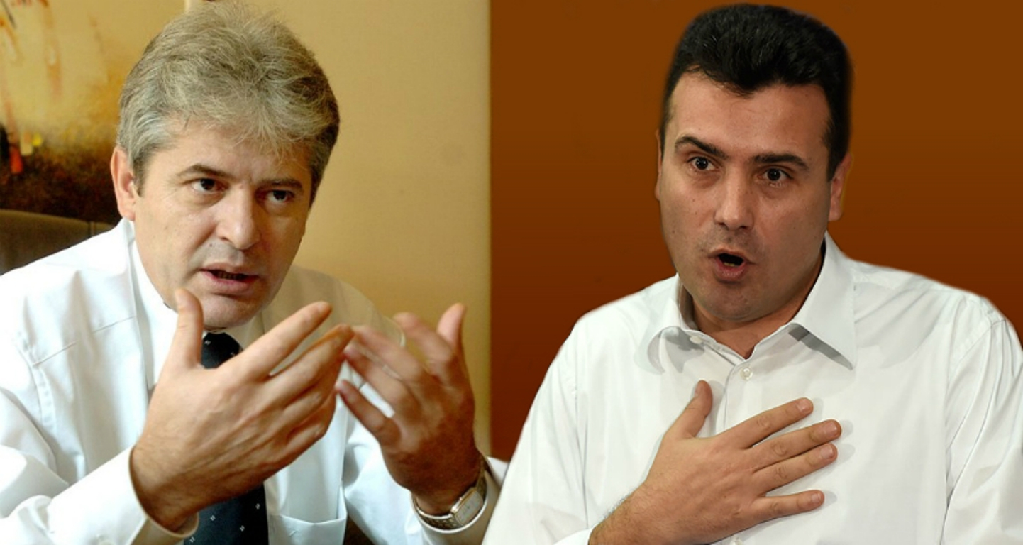 Zaev and Ahmeti are optimistic on the formation of new institutions