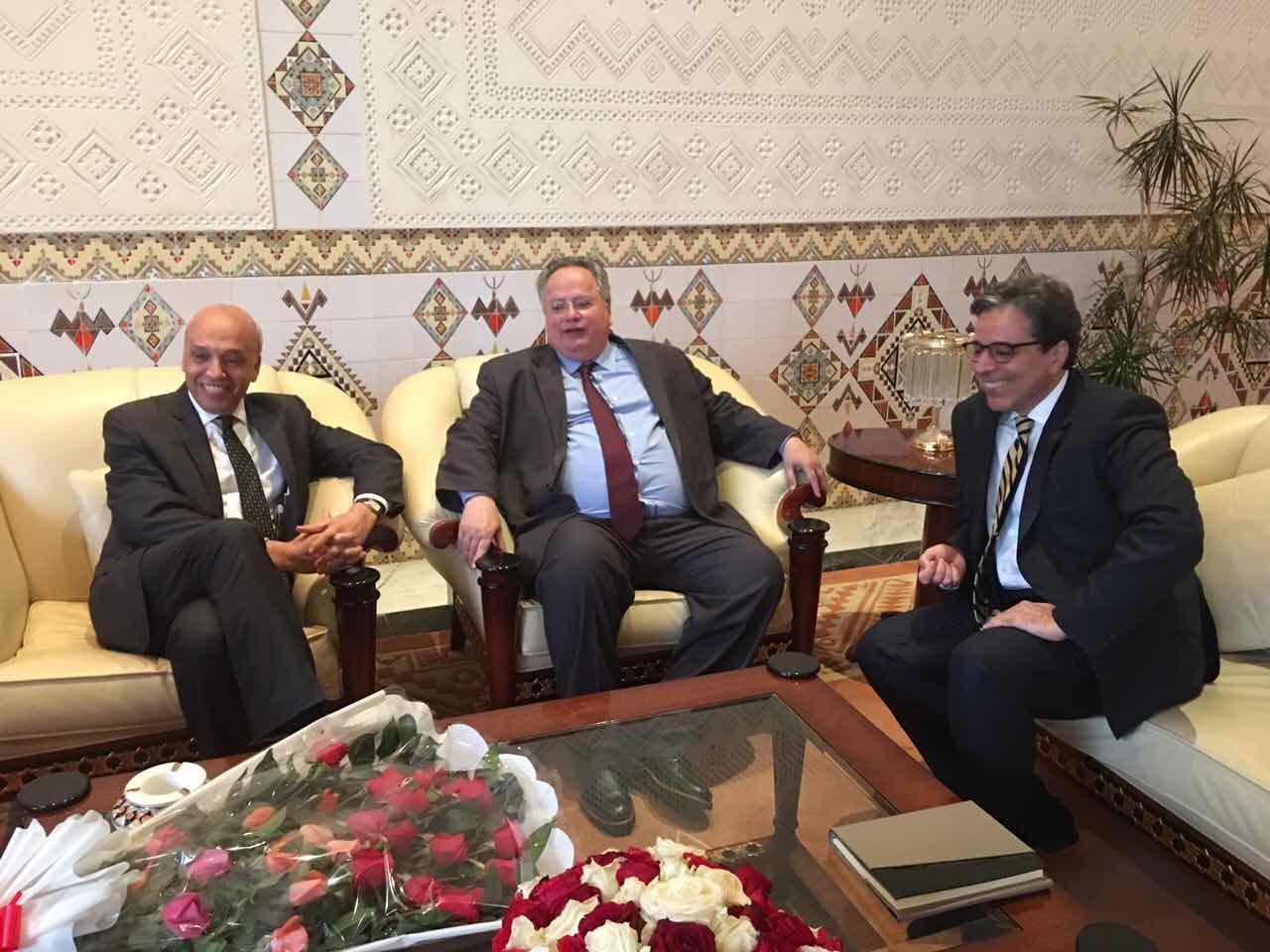 Greek Foreign Minister to visit Algeria