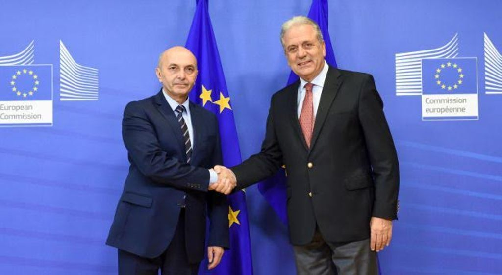 Mustafa fails to convince Brussels on the border deal with Montenegro